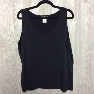 Black Tank PLUS SIZE 1X